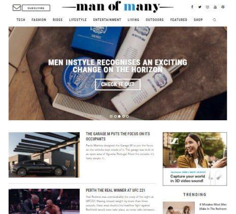Man of many